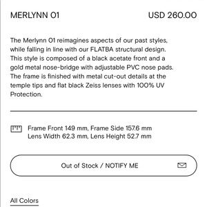 cb1f7014595 Gentle Monster Accessories - Gentle Monster Merlynn-01